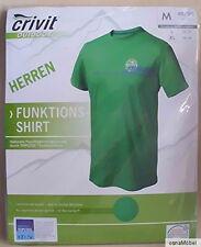 crivit OUTDOOR Herren Funktionsshirt - Farbe Grün - Größe M 48/50 - NEU
