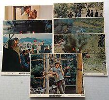 THE LAST GRENADE 8 x 10 Color Film Stills Lot Of 8 Stanley BAKER Alex CORD 1970