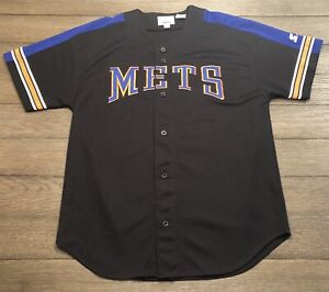 Vintage 90s New York/'s Mets Stitched Pinstripe Jersey by CCM