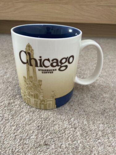 NEW Chicago MIC Starbucks Icon Collector Series 16oz Mug