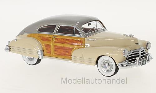 CHEVROLET FLEETLINE Aerosedan 1948 Beige en finition bois 1 43 Neo 45833    NEW