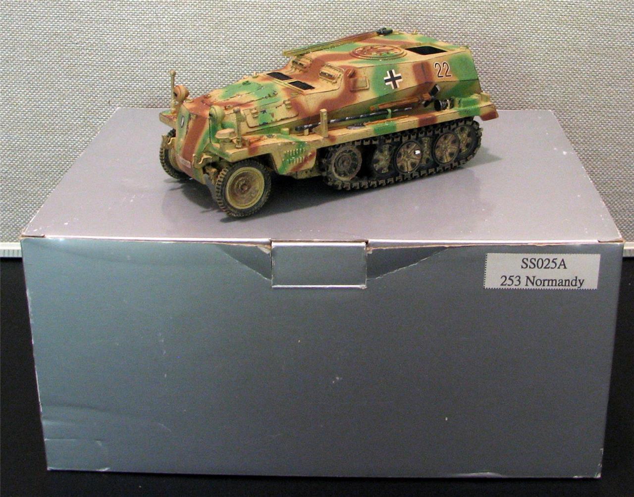 Thomas pistola minatures Alemán Sdkfz 253 latas de la segunda guerra mundial SS025A
