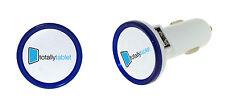 2 Pack of 3.1 Amp Dual USB LED Smart Car Charger for Smartphones,eBooks,Tablets
