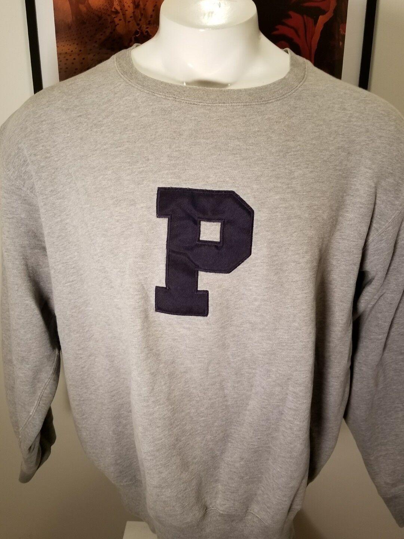 Polo Ralph Lauren Big P no wing Grau Sweat Shirt XL
