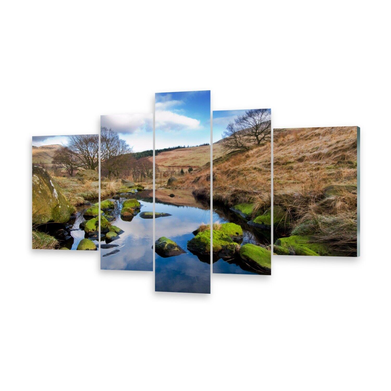 Mehrteilige Bilder Acrylglasbilder Wandbild Landschaft England