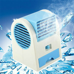 Mini Fan Cool Air Conditioner Usb Cooler Portable Desktop