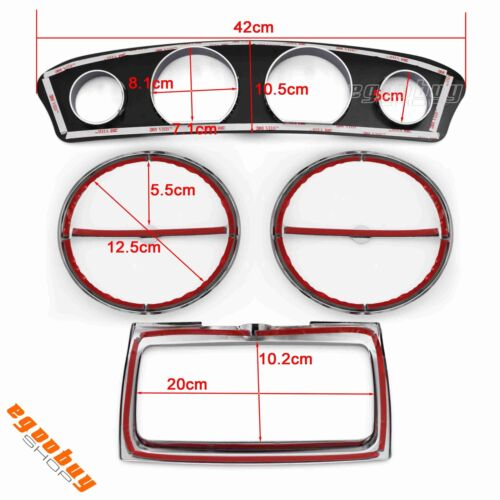 Motorcycle Inner Fairing Trim Dress Up Kit For Harley Electra Glide FLHT 2014-Up