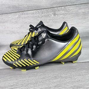 Adidas Predator Absolado Lz Trx Fg Jaune et Noir Football BOOT UK taille 7