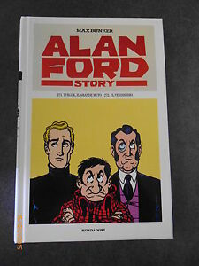 ALAN FORD STORY n° 136 (contiene i nn° 271 e 272) - MONDADORI CARTONATO - NUOVO