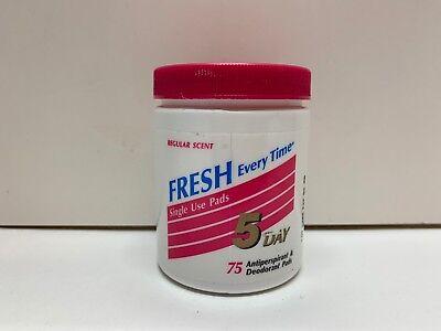 Five Day Fresh Antiperspirant & Deodorant Single Use Pads