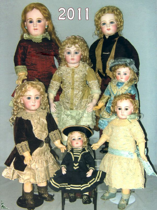 5 Dolls Auction sell catalogues Toys Games Automatons - Year 2011
