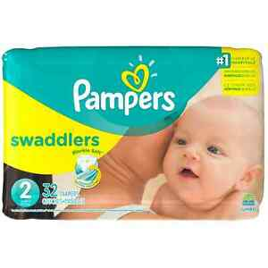 Pampers-Swaddlers-Diapers-Size-2-32-ea-Pack-of-2
