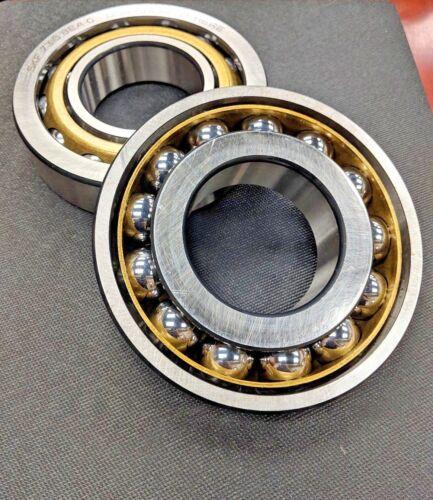 7316 BEAY SKF 7316 BECBY Brass Open 80mm Bore Angular Contact Bearing