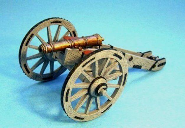 JOHN JENKINS DESIGNS BATTLE OF MONONGAHELA BAGUN-01 6 POUND BATTALION GUN MIB