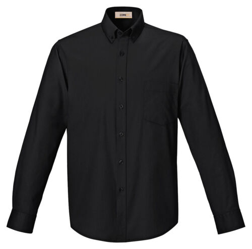 North End Men/'s Left Chest Pocket UV Protection Long Sleeve Twill Shirt 88193