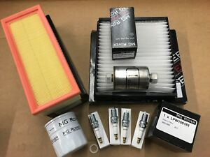 Rover 25 MG ZR 1.4 1.6 huile filtre à air et 4 bougies