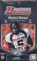 2009 Bowman Draft Picks Football Factory Sealed Hobby Box - 2 Auto Rcs Per Box.