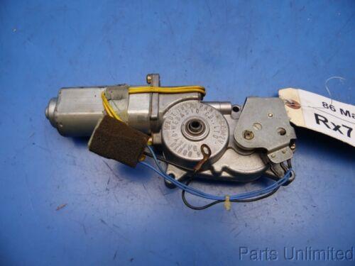 86-91 Mazda Rx7 OEM sunroof sun roof motor actuator STOCK factory # T24 08010