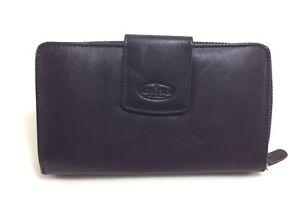 BEAR-Design-Geldboerse-Portemonnaie-Brieftasche-FR2881-Leder-schwarz