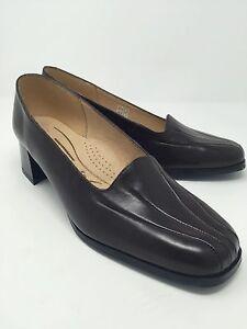 new styles 462b3 b2af6 Details zu Pelre de charme Damen Schuhe braun Leder Gr. 40 (ZN3 06)