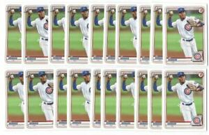 x20 ED HOWARD 2020 1st Bowman Draft #98 Rookie Card RC lot/set Cubs invest star!