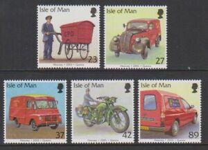 Isle-of-Man-2003-Post-Office-Vehicles-set-MNH-SG-1056-60
