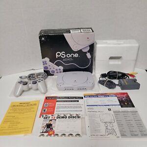 Sony PSOne PS1 Playstation Slim Console SCPH-101 CIB Complete Black Box