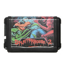 SplatterHouse 2 16 bit Sega MegaDrive Genesis Game Cartridge Mega Card MD 16bit