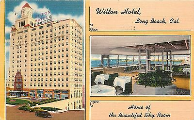 Vintage Postcard Wilton Hotel And The
