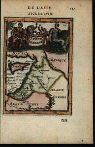 Syrie-Moderne-Syria-Arabia-Palestine-Cyprus-1683-Mallet-miniature-decorative-map