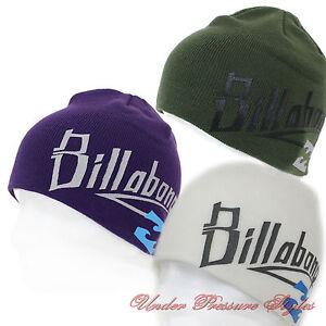 Billabong-Gorro-de-Invierno-Punto-Snowboard-Esqui-Winter-Calido-Nuevo