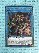 MP19-DE105 crusadia Magius Prismatic Secret Rare New 1 Edition