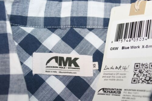Avec Xs Khakis Marine Carreaux Bleu Vichy Mountain Neuf Femmes Étiquettes TxUqPIpwfw