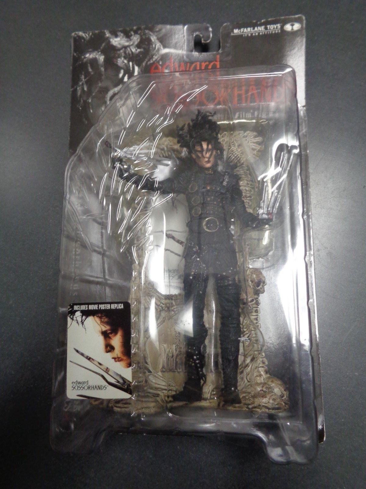 McFarlane Toys Johnny Depp Edward Scissorhands Feature Film Figure Doll NEW