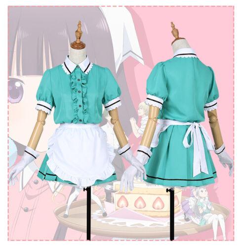 Blend S Maika Kaho Mafuyu Mafuyu Maid Dress Uniform Cosplay Costume Custom Made