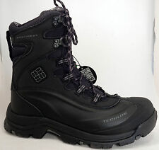 NEW Columbia Bugaboot Plus III Omni Heat Waterproof Mens Boots 8.5 Black