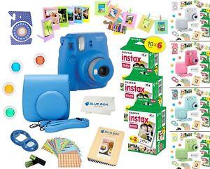 Fujifilm-Instax-Mini-9-Instant-Camera-60-Fuji-Film-SHEETS-Accessory-Bundle