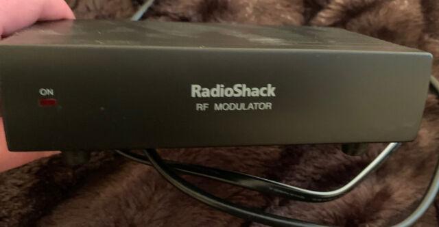 Radio Shack 15 1214 Video Component Adapter Rf Modulator Ac1 For Sale Online Ebay