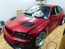 BMW e46 M3 e39 M5 GTR Bonnet DTM hood Vents grilles Air Duct stance turbo