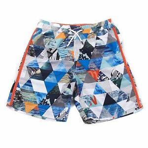 0331d94a6d NAUTICA® Boys' S(8), L(14/16) Diamond Print Swim Trunks NWT | eBay
