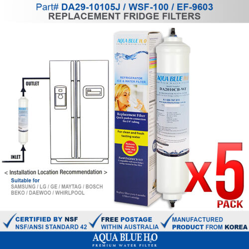 WSE6970WA WSE6970WE, WSE6970SF Westinghouse  Fridge Water Filter for WSE6970SA
