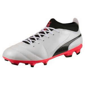 Puma One 17.3 Fg M 104074 01 chaussures de football blanc noir