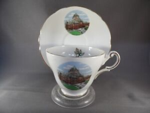 GROSVENOR-BONE-CHINA-CUP-AND-SAUCER-034-CHATEAU-FRONTENAC-QUEBEC-034-CANADA-ENGLAND