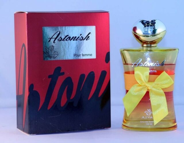 Astonish Pour Femme by Ajyad Sweet Mild Rose Petals Fruity Floral Musk EDP 100ml