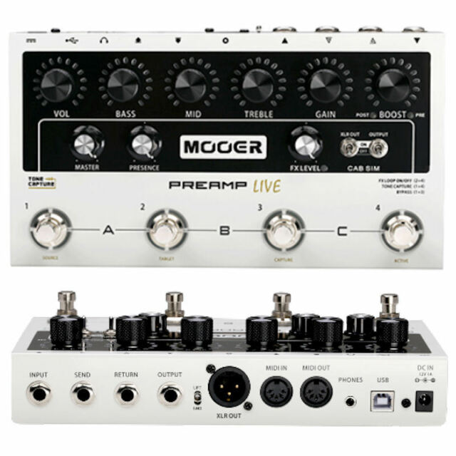 Mooer Pre-Amp Live NEW! Release In Stock