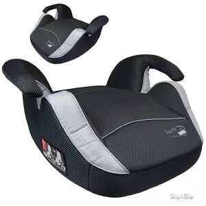sitzerh hung excellent auto sitzkissen kindersitz sicherheit silber carbon look ebay. Black Bedroom Furniture Sets. Home Design Ideas
