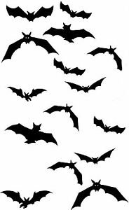 image is loading flying bats 2 temporary tattoos waterpoof vampire bat - Images Of Bats 2