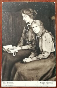 The-Sisters-by-Ralph-Peacock-Eyre-amp-Spottiswoode-Post-Card