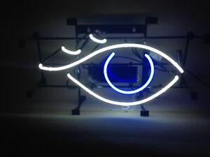dcecb609217d Das Bild wird geladen Auge-Neonreklame-EYE-Neon-sign-Augenarzt -Leuchtreklame-Reklame-