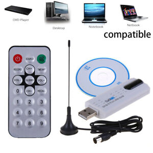 Digitale DVB t2 USB TV Stick sintonizzatore USB 2.0 HDTV Ricevitore + Antenna + Fernbed de